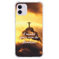 Capinha para celular - Religiosa 24 - A Minha Força Vem Do Senhor