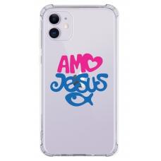 Capinha para celular - Religiosa 28 - Amo Jesus