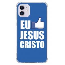 Capinha para celular - Religiosa 74 - Eu Curto Jesus Cristo