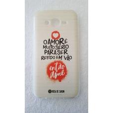 Capinha para celular - Samsung J7 / J7 Neo - Rosa De Saron 23