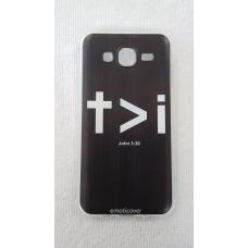 Capinha para celular - Samsung J5 J500 - Cristo maior que eu
