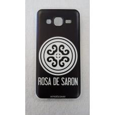 Capinha para celular - Samsung J5 J500 - Rosa De Saron 01
