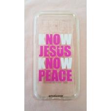 Capinha para celular - Samsung J5 J500 - No Jesus No Peace
