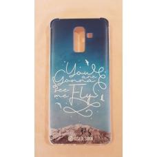 Capinha para celular - Samsung J8 / A6 Plus - Rosa De Saron 24