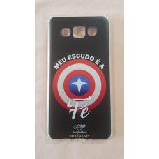 Capinha para celular - Samsung A5 2015 - Meu Escudo É A Fé Cn