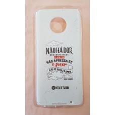 Capinha para celular - Motorola G6 Plus - Rosa De Saron 20