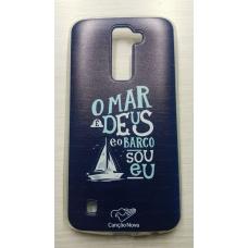 Capinha para celular - Lg K10 K430 - O Mar É Deus Cn