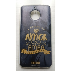 Capinha para celular - Motorola E4 Plus - Dom 03 - A Medida Do Amor