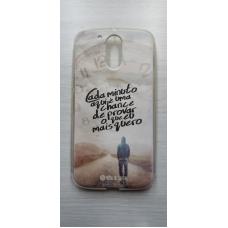 Capinha para celular - Motorola G4 / G4 Plus - Rosa De Saron 19