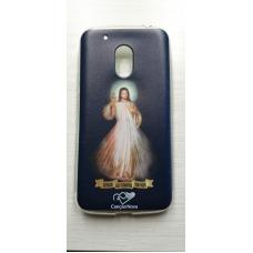 Capinha para celular - Motorola G4 Play - Jesus Misericordioso Cn