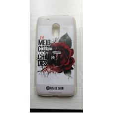 Capinha para celular - Motorola G4 Play - Rosa De Saron 25
