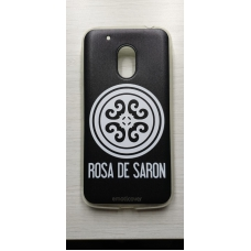Capinha para celular - Motorola G4 Play - Rosa De Saron 01