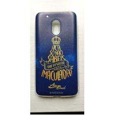 Capinha para celular - Motorola G4 Play - Aline Brasil 09