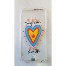 Capinha para celular - Iphone 7 / 8 - Diego - Quero ser templo (transparente)