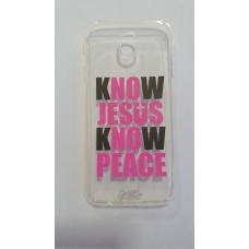 Capinha para celular - Samsung J7 Pro - Know Jesus