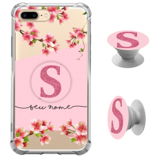 Kit Capinha com Pop-selfie - Flores 12