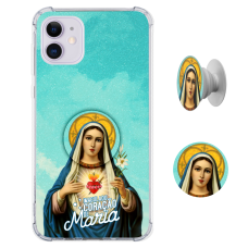 Kit Capinha com Pop-selfie - Religião 116 - Imaculado Coração de Maria