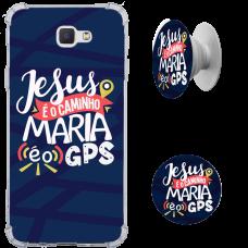 Kit Capinha com Pop-selfie - Religião 144 - Jesus é o caminho, Maria é o GPS