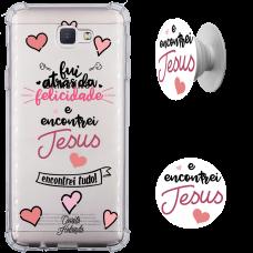 Kit Capinha com Pop-selfie - Camila Holanda 11 - Encontrei Jesus