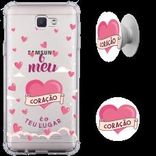 Kit Capinha com Pop-selfie - Camila Holanda 15 - Meu coração é o teu lugar