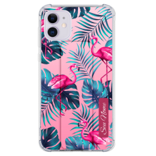 Kit Capinha com Pop-Holder - Flamingo 10