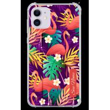 Kit Capinha com Pop-Holder - Flamingo 12
