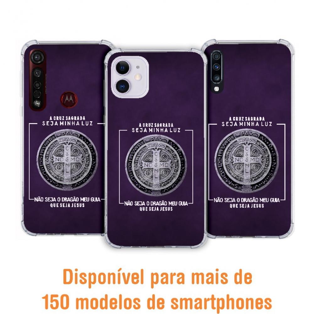Kit Capinha com Pop-selfie - Religião 147 - Medalha São Bento