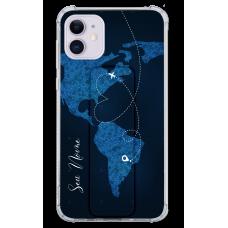 Kit Capinha com Pop-holder - Mapa Mundi 01