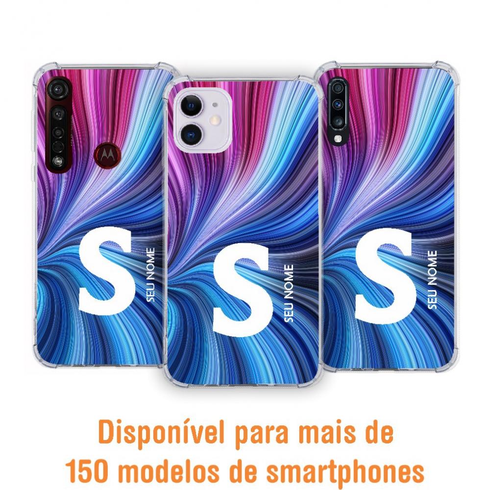 Capinha para celular - Colors 37 - Personalizada com nome