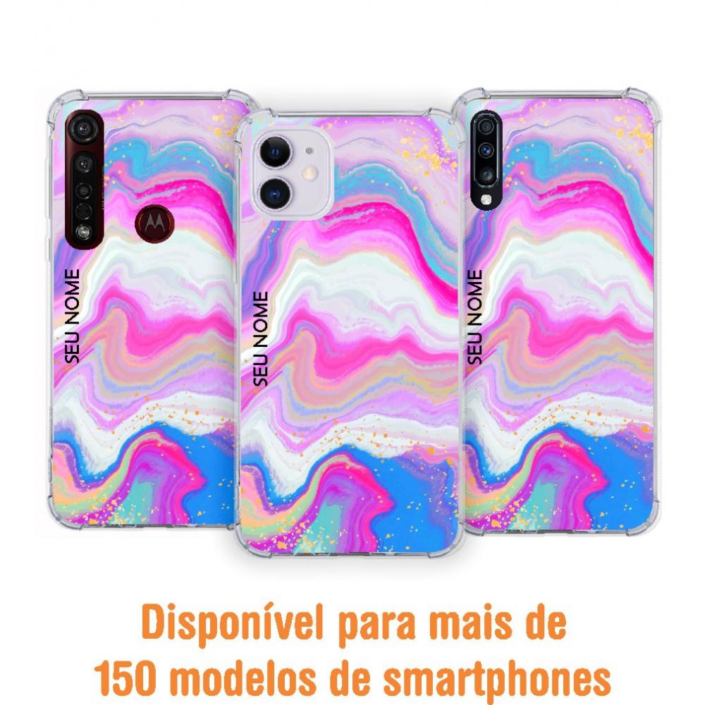 Capinha para celular - Colors 47 - Personalizada com nome