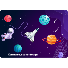 Mousepad Personalizado - Space 02