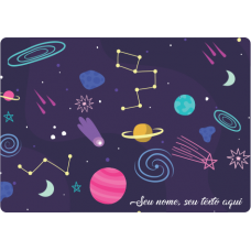 Mousepad Personalizado - Space 06