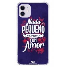 Capinha para celular - Nando Mendes 14 - Nada é pequeno