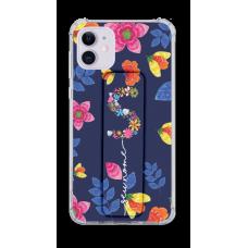 Kit Capinha com Pop-Holder - Personalizado com nome - Flores 20