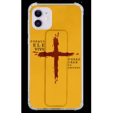 Kit Capinha com Pop-Holder - Religioso 177 - Porque Ele vive