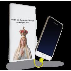 Carregador Portátil - Religião 106 - Nossa Senhora de Fátima