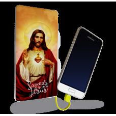 Carregador Portátil - Religião 115 - Sagrado Coração Jesus
