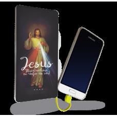 Carregador Portátil - Religião 66 - Jesus Misericordioso