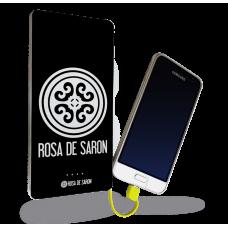 Carregador Portátil - Rosa De Saron 01
