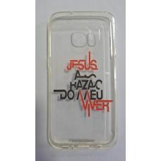 Capinha para celular - Samsung S7 - Jesus a razão