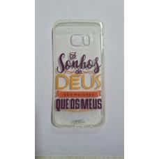 Capinha para celular - Samsung S7 Edge - Os sonhos de Deus