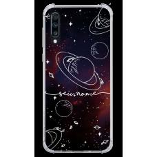 Capinha para celular - Personalizada com nome - Space 08