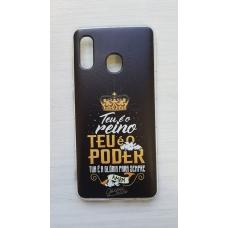Capinha para celular - Samsung A20 / A30 - Teu é o Reino