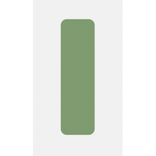 Pop-Holder avulso - Cores basicas -  Verde claro liso