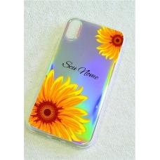 Capinha holográfica - Personalizada com seu nome - Sunflower (girassol) 03