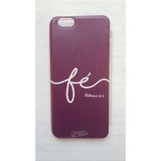 Capinha para celular - Iphone 6 / 6S - Fé - 168