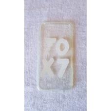 Capinha para celular - Iphone 6/6S - Religião 56 - Escrita Branca