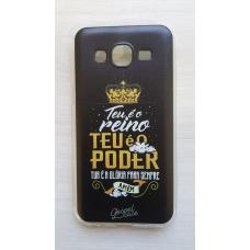 Capinha para celular - Samsung J5 J500 - Teu é o reino