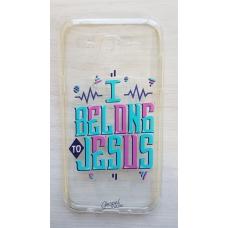 Capinha para celular - Samsung J5 J500 - I Belong (transparente)