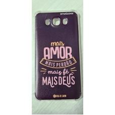Capinha para celular - Samsung J7 Metal (J710) - Rosa de Saron - Mais amor
